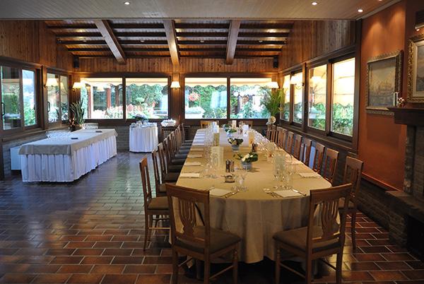 ristorante alpozzetto sala interna